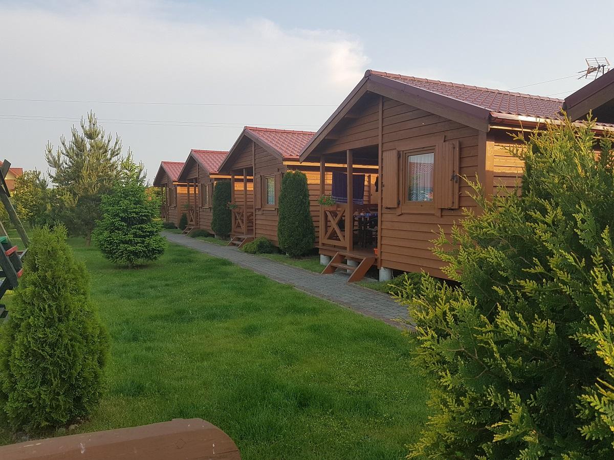 Domki letniskowe w miejscowości Wicie