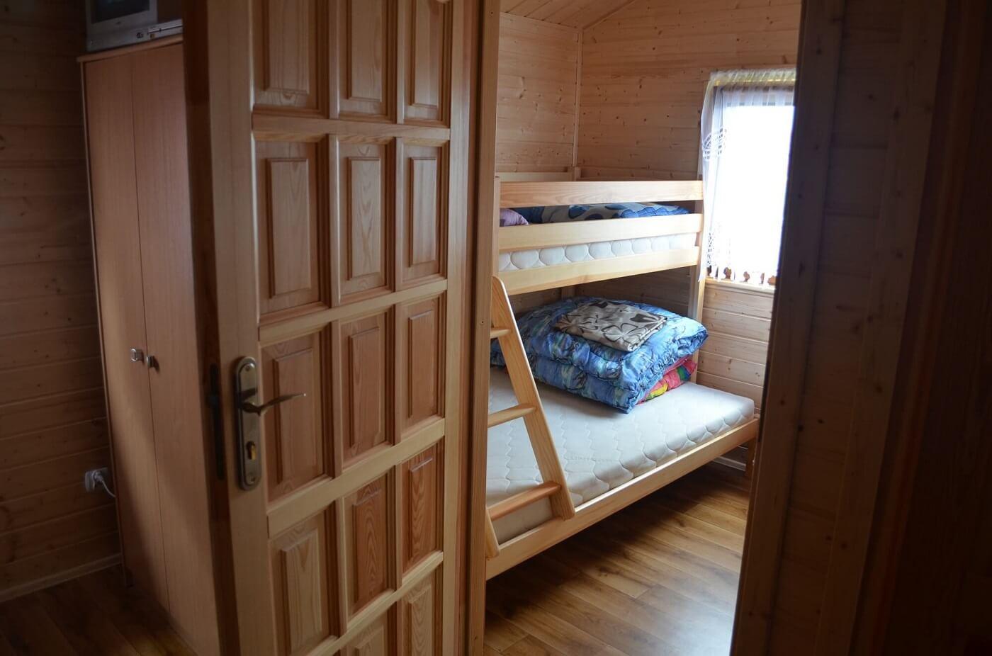 Sypialnia w domku letniskowym